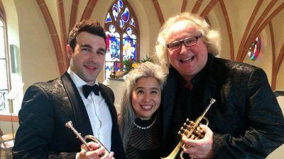 Manuel Blanco, Eriko Takezawa, Reinhold Friedrich